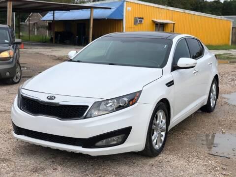 2012 Kia Optima for sale at Preferable Auto LLC in Houston TX