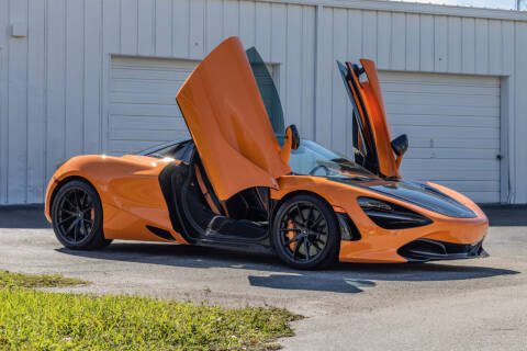 2020 McLaren 720S Spider for sale at Exquisite Auto in Sarasota FL