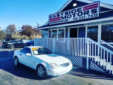 2000 Mercedes-Benz SLK for sale at EASTSIDE MOTORS in Tulsa OK