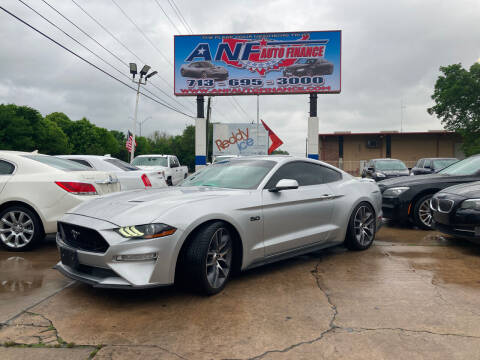 2018 Ford Mustang for sale at ANF AUTO FINANCE in Houston TX