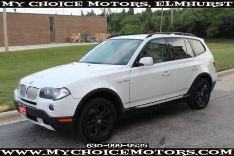 2008 BMW X3 for sale at My Choice Motors Elmhurst in Elmhurst IL