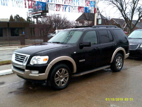 2008 Ford Explorer for sale at Fred Elias Auto Sales in Center Line MI