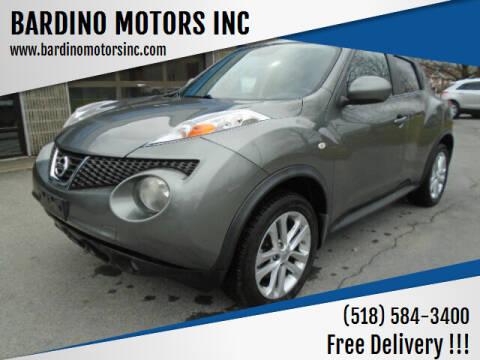 2011 Nissan JUKE for sale at BARDINO MOTORS INC in Saratoga Springs NY