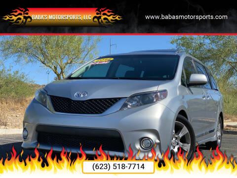 2014 Toyota Sienna for sale at Baba's Motorsports, LLC in Phoenix AZ