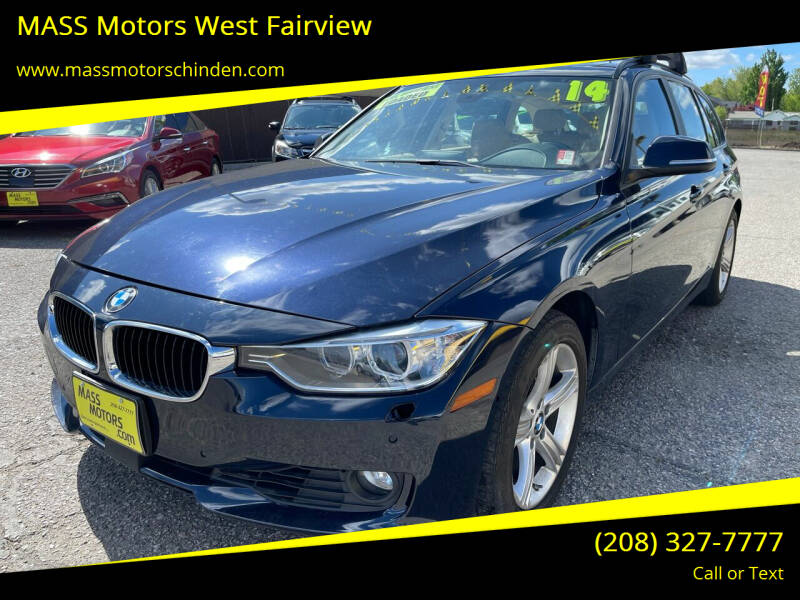 2014 BMW 3 Series for sale at M.A.S.S. Motors - West Fairview in Boise ID