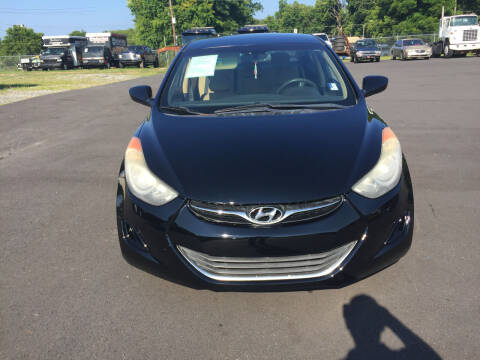 2012 Hyundai Elantra for sale at Beckham's Used Cars in Milledgeville GA