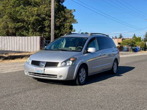 2005 Nissan Quest for sale at Baboor Auto Sales in Lakewood WA