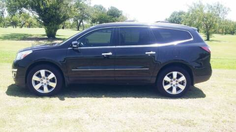 2013 Chevrolet Traverse for sale at H & H AUTO SALES in San Antonio TX
