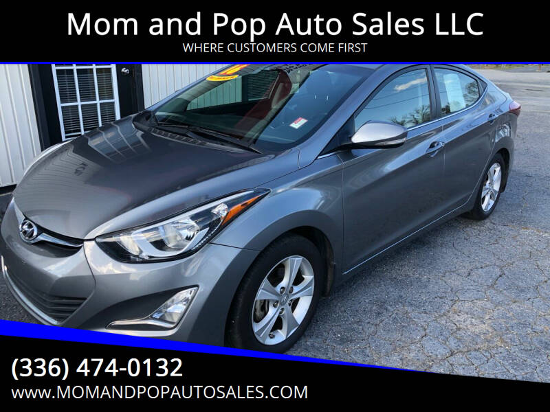 2016 Hyundai Elantra for sale at Mom and Pop Auto Sales LLC in Thomasville NC