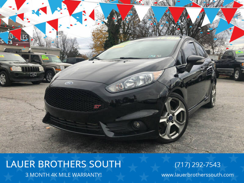 2016 Ford Fiesta for sale at LAUER BROTHERS SOUTH in York PA