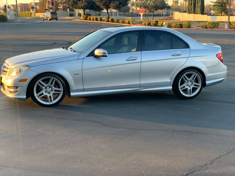 2012 Mercedes-Benz C-Class for sale at Integrity Motorz, LLC in Tracy CA