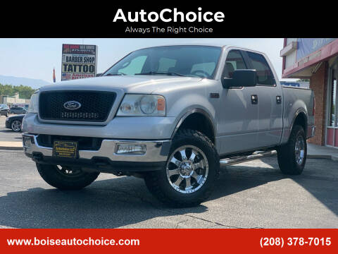 2005 Ford F-150 for sale at AutoChoice in Boise ID