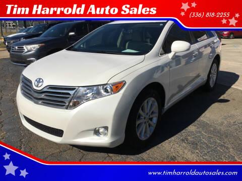 2012 Toyota Venza for sale at Tim Harrold Auto Sales in Wilkesboro NC