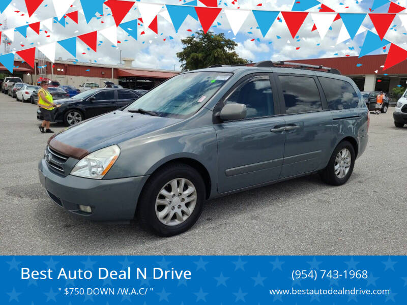 2007 Kia Sedona for sale at Best Auto Deal N Drive in Hollywood FL