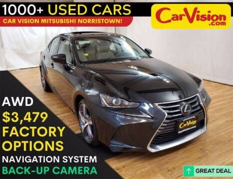 2017 Lexus IS 300 for sale at Car Vision Buying Center in Norristown PA