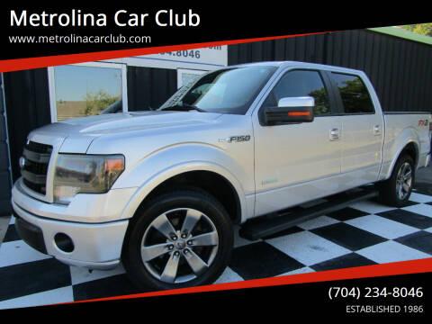 2014 Ford F-150 for sale at Metrolina Car Club in Matthews NC