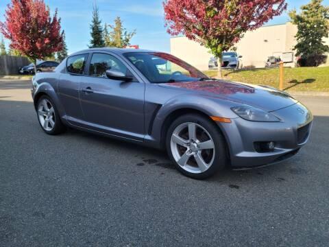 2004 Mazda RX-8 for sale at SS MOTORS LLC in Edmonds WA