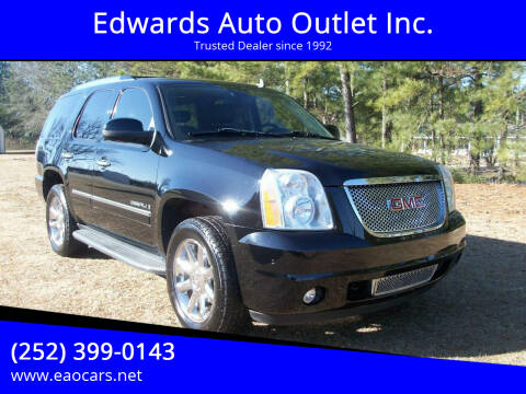 2009 GMC Yukon for sale at Edwards Auto Outlet Inc. in Wilson NC