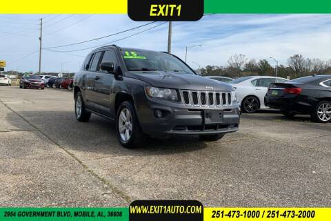 2015 Jeep Compass for sale at Exit 1 Auto in Mobile AL
