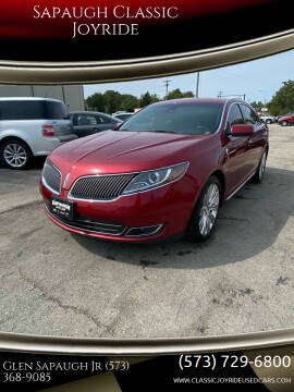 2014 Lincoln MKS for sale at Sapaugh Classic Joyride in Salem MO