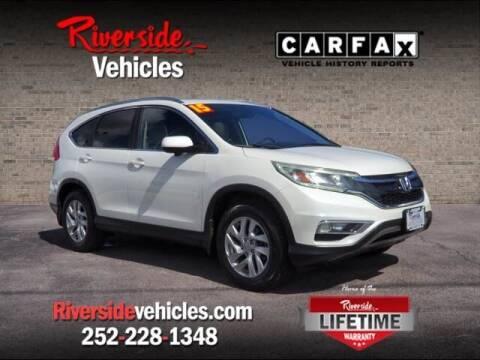 2015 Honda CR-V for sale at Riverside Mitsubishi(New Bern Auto Mart) in New Bern NC