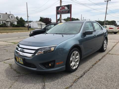 2011 Ford Fusion for sale at JK & Sons Auto Sales in Westport MA
