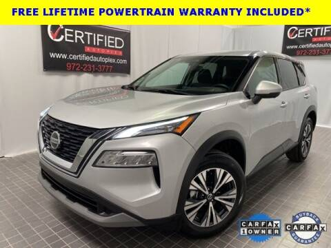 2021 Nissan Rogue for sale at CERTIFIED AUTOPLEX INC in Dallas TX