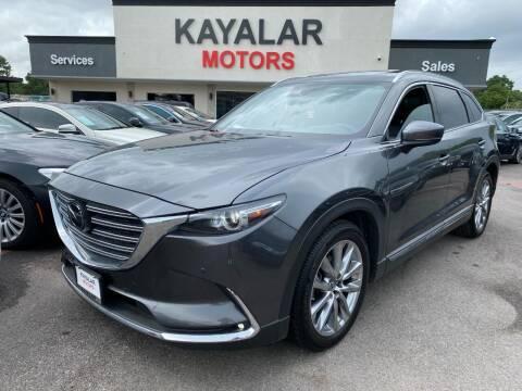 2019 Mazda CX-9 for sale at KAYALAR MOTORS in Houston TX