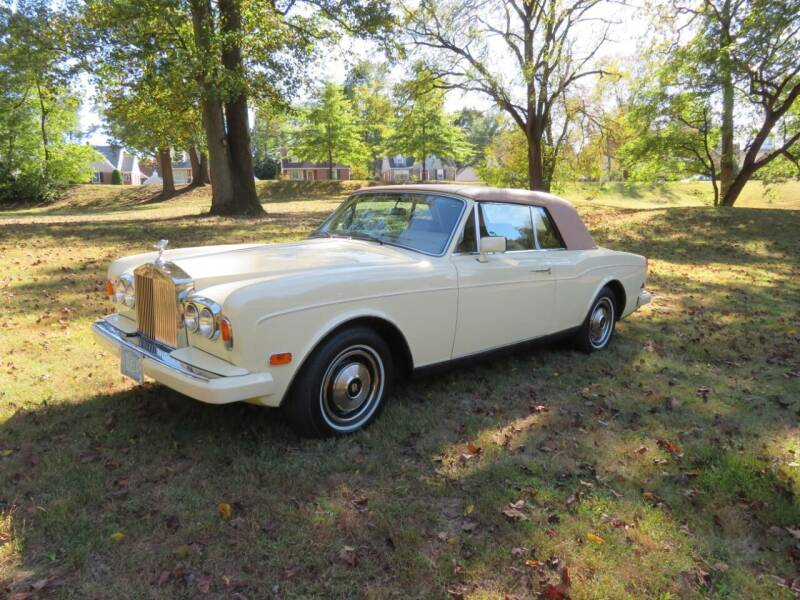 1985 Rolls-Royce Corniche for sale at PALMA CLASSIC CARS, LLC. in Audubon NJ