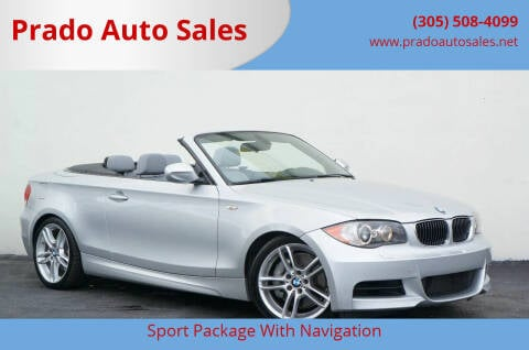 2011 BMW 1 Series for sale at Prado Auto Sales in Miami FL