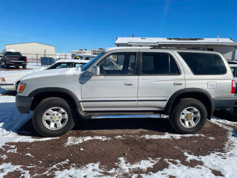 1997 Toyota 4Runner for sale at PYRAMID MOTORS - Fountain Lot in Fountain CO
