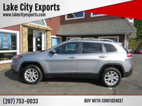 2017 Jeep Cherokee for sale at Lake City Exports in Auburn ME