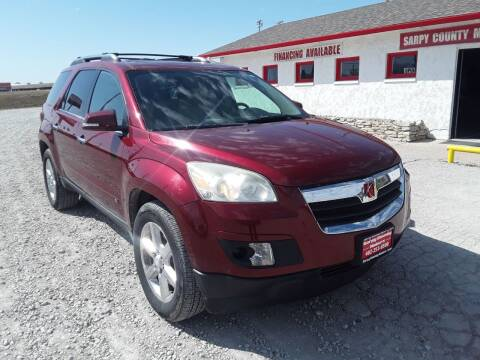2008 Saturn Outlook for sale at Sarpy County Motors in Springfield NE
