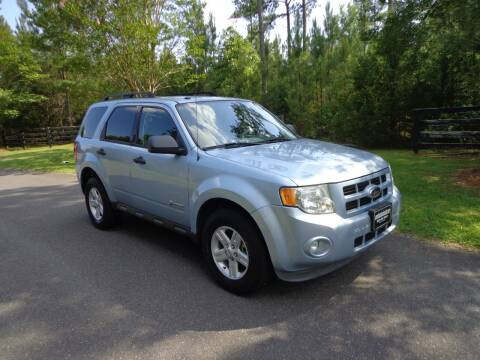 2009 Ford Escape Hybrid for sale at CAROLINA CLASSIC AUTOS in Fort Lawn SC