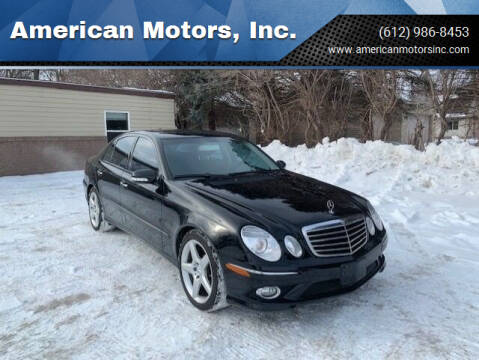2008 Mercedes-Benz E-Class for sale at American Motors, Inc. in Farmington MN