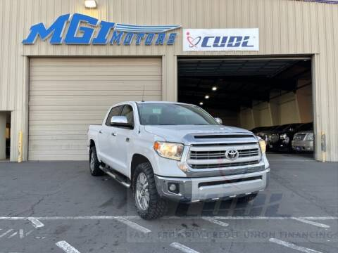 2014 Toyota Tundra for sale at MGI Motors in Sacramento CA