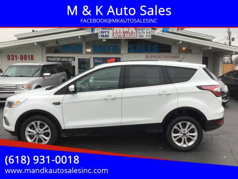 2017 Ford Escape for sale at M & K Auto Sales in Granite City IL
