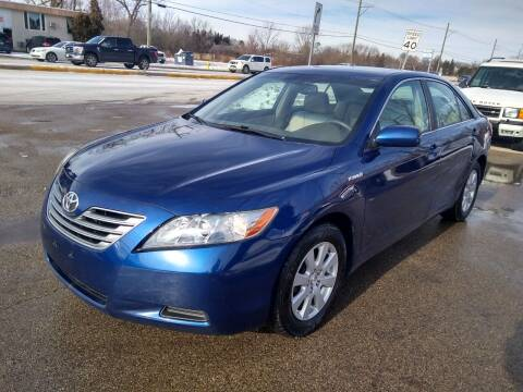 2007 Toyota Camry Hybrid for sale at GLOBAL AUTOMOTIVE in Gages Lake IL