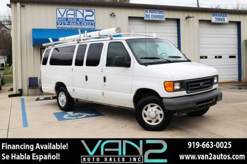 2007 Ford E-Series Wagon for sale at Van 2 Auto Sales Inc in Siler City NC