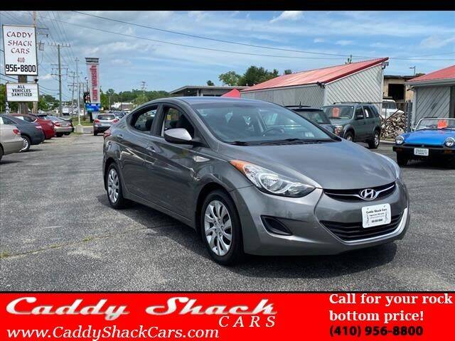 2013 Hyundai Elantra for sale at CADDY SHACK CARS in Edgewater MD
