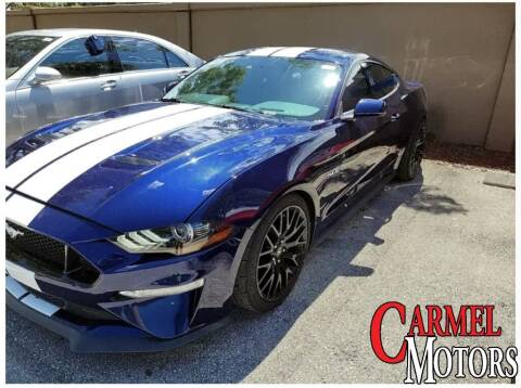 2018 Ford Mustang for sale at Carmel Motors in Indianapolis IN