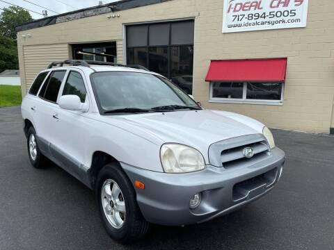 2005 Hyundai Santa Fe for sale at I-Deal Cars LLC in York PA