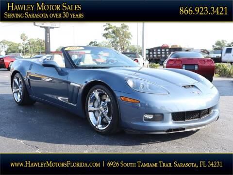 2012 Chevrolet Corvette for sale at Hawley Motor Sales in Sarasota FL