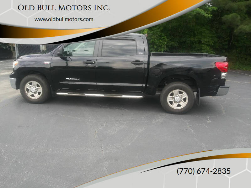 2007 Toyota Tundra for sale at Old Bull Motors Inc. in Snellville GA