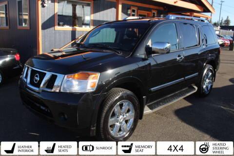 2010 Nissan Armada for sale at Sabeti Motors in Tacoma WA