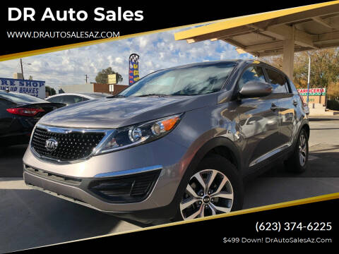 2015 Kia Sportage for sale at DR Auto Sales in Glendale AZ