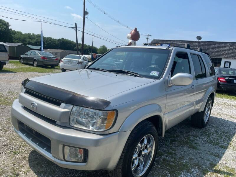 2003 Infiniti QX4 for sale at Ron Motor Inc. in Wantage NJ