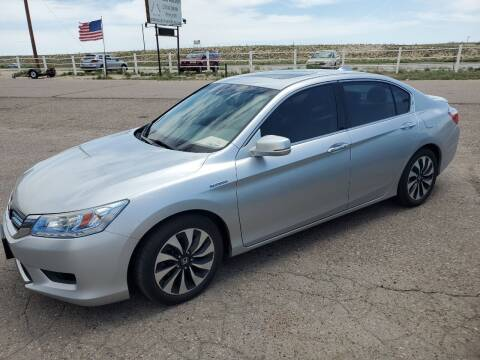 2015 Honda Accord Hybrid for sale at PYRAMID MOTORS - Fountain Lot in Fountain CO