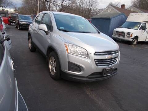 2015 Chevrolet Trax for sale at MATTESON MOTORS in Raynham MA