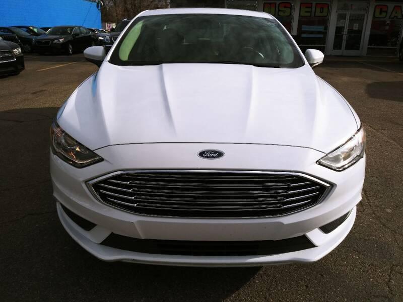2017 Ford Fusion for sale at Daniel Auto Sales inc in Clinton Township MI